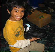 Annual Shoe Sponsorship Drive