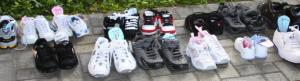Our Annual Shoe Sponsorship Drive Continues