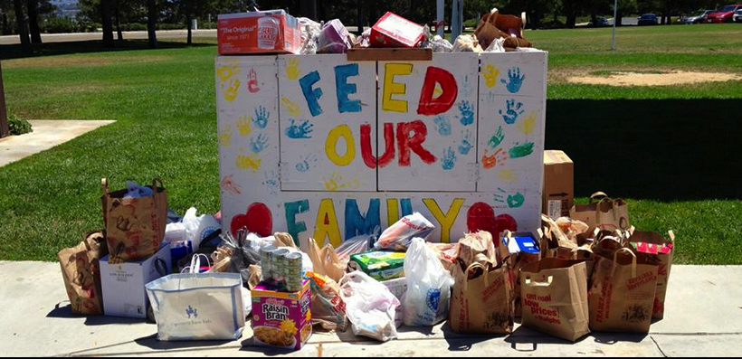 South County Outreach Monthly Food & Toiletry Collection