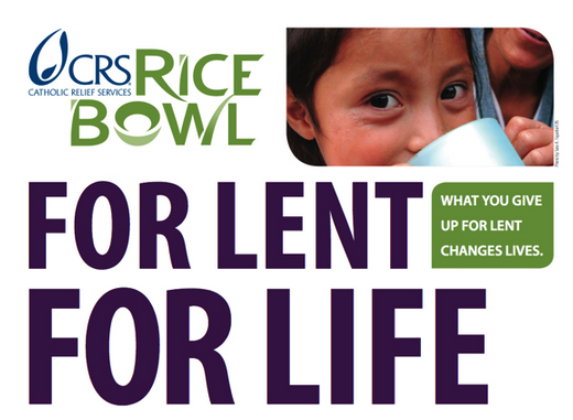 Catholic Relief Services (CRS) Rice Bowl