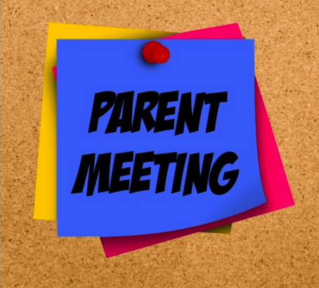 Youth Ministry Parent Information Meeting