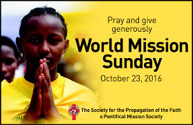 World Mission Sunday Second Collection