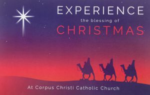 Christmas EVE and Christmas DAY Mass Schedule