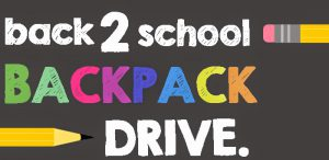 Back-to-School Backpack / School Supplies Drive