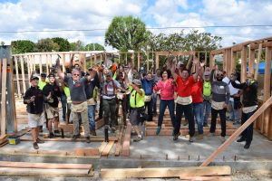 Habitat For Humanity / Catholic Coalition Build Day