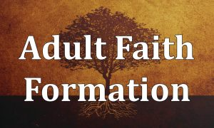 Adult Faith Formation Coordinator Sought