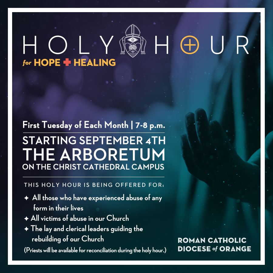 Holy Hour for Hope + Healing