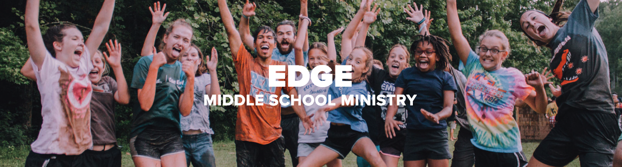 EDGE Night - Middle School Youth Ministry