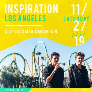 SIX FLAGS MAGIC MOUNTAIN FOR LIFETEEN INSPIRATION!
