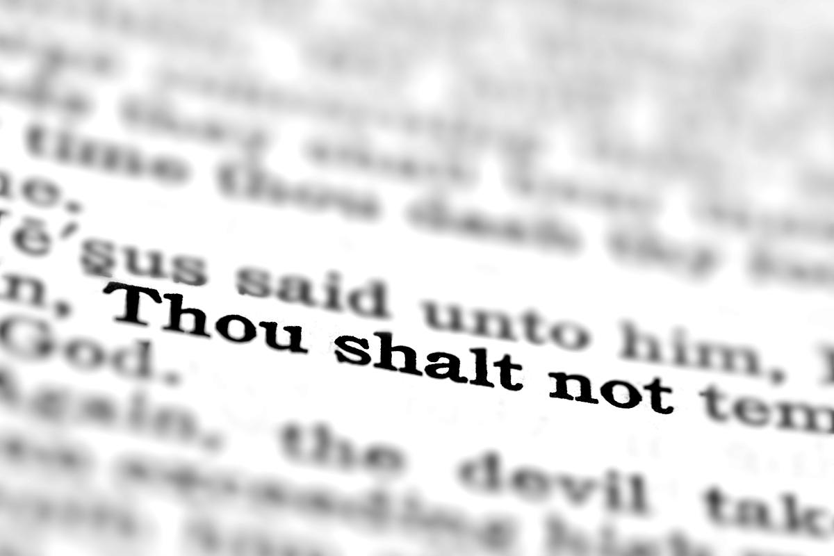 Adult Faith Formation May Teaching - The Ten Commandments
