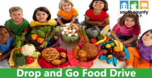 """Drop and Go"" Food Drive for South County Outreach – Saturday, Sept. 26th"