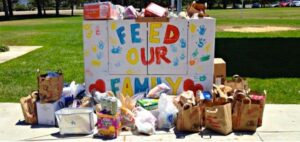 Monthly Food Drive Thru-Saturday, February 27th